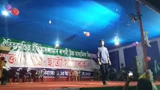 Protidine tumi ahi diya | Zubeen garg | 𝕵𝖚𝖓𝖆𝖐 Boruah performing on Alumni meet Fs.At Rupahi HS