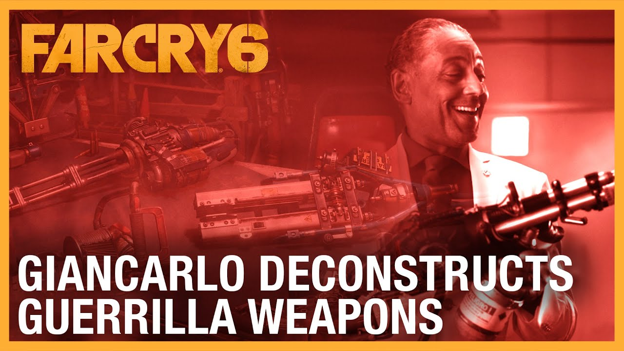Far Cry 6: Giancarlo Deconstructs Guerrilla Weapons | Ubisoft