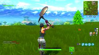 *NEW* FORTNITE TACTICAL SPADE PICKAXE SOUND EFFECTS AND GAMEPLAY! @LycanPhilly