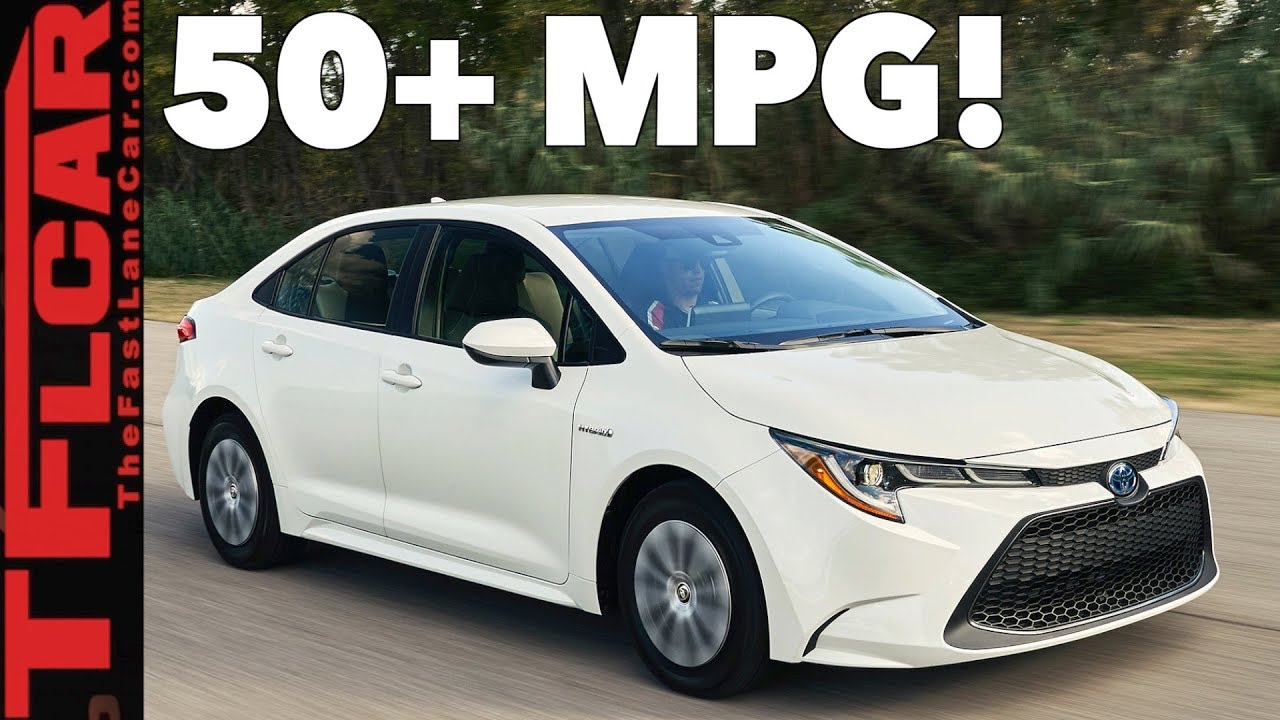 Toyota Corolla Le >> 2020 Toyota Corolla Hybrid: Toyota Brings its First Corolla Hybrid to the US! - YouTube
