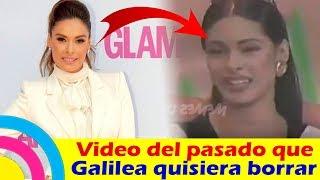 Galilea Montijo Quisiera Borrar Éste Video De Su Pasado (video)