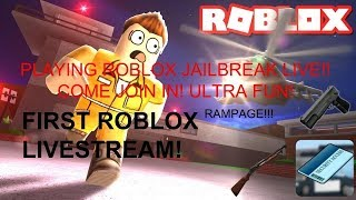 ROBLOX LIVE STREAM SU JAILBREAK!! PRIMO LIVE STREAMING MAI!