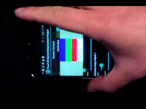 Nexus 4 Hardware Gamma Control via FauxClock app