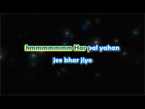 Kal Ho Na Ho - Unwind - Karaoke with Lyrics