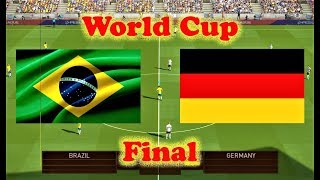 Brazil vs Germany 2018 | World Cup Final | PES 2018 Gameplay HD