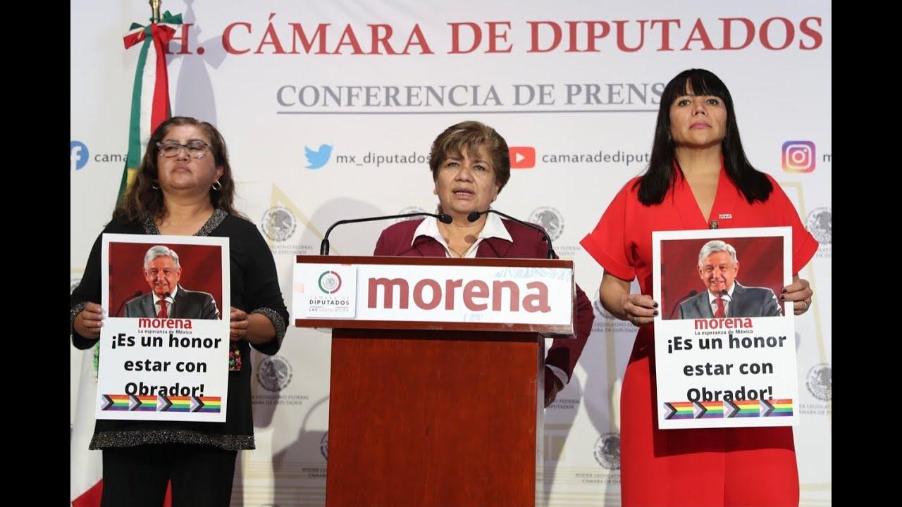 Download EN VIVO / Conferencia de la diputada María Eugenia Hernández (Morena).