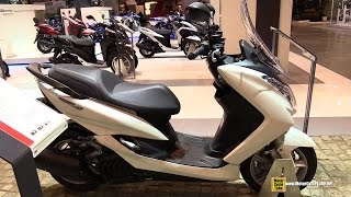 2015 Yamaha Majesty S 125 Scooter - Walkaround - 2014 EICMA Milan Motorcycle Exhibition