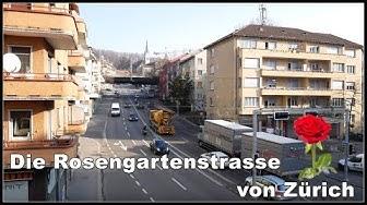 Kommt der Rosengartentunnel?   Die Rosengartenstrasse von Zürich, Schweiz 2019