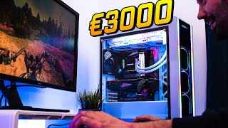 Configurazione PC Gaming da 3000€ - 7 Giochi provati! - ENERMAX SABERAY WHITE