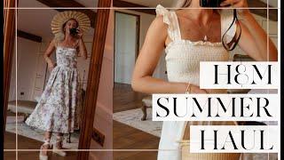H&M SUMMER HAUL & TRY ON // Fashion Mumblr
