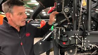 Vicon FastBale – Chain maintenance and oil