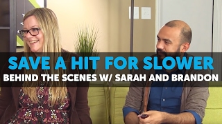 Behind The Scenes of 420 Science Club w/ Sarah and Brandon - Save a Hit for Slower Ep. 9