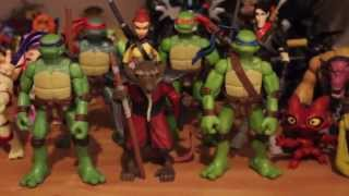 My TMNT Collection so far  - Teenage Mutant Ninja Turtles