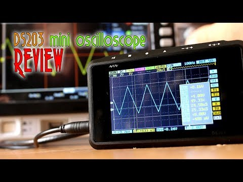 Mini DSO DS203 review and test