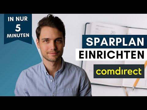 Comdirect Sparplan