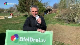 #EifelDreiTV - Wildblumenwiesenprojekt 2020 - Startschuß