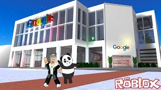 We're Building a Google Factory!! - Roblox Google Factory Tycoon with Panda