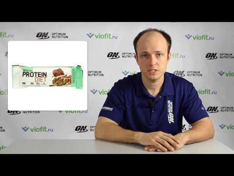 Спортивное питание - батончик Optimum Nutrition Optimal Protein Diet