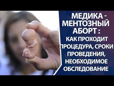 Медикаментозный аборт: сроки проведения, показания, противопоказания, обследование перед абортом