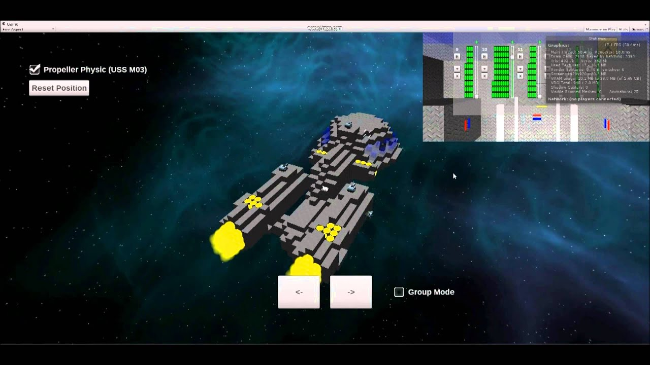 Battlecruiser Wars - BCW - Pre Alpha - Demo - Spaceship ...