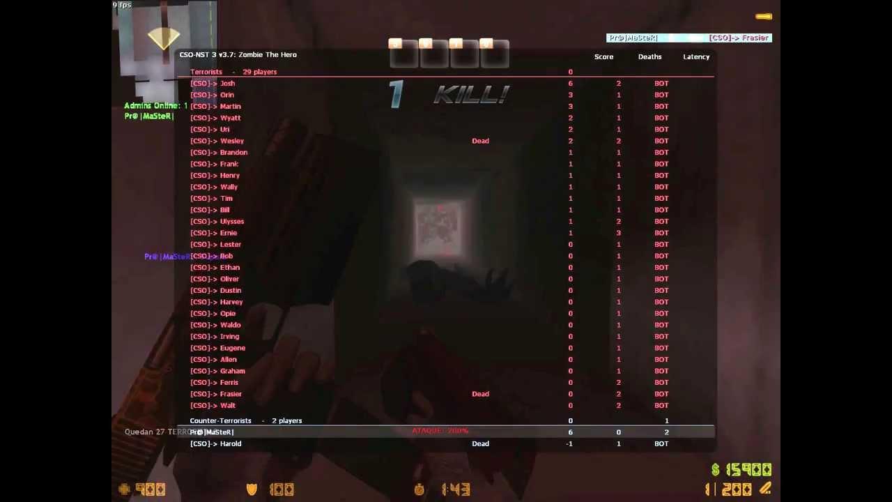 Counter strike cso free download.