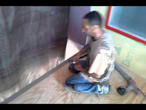 How to waterproofing decks step 2