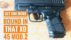 Springfield XD Mod2 45 Magazine Modification