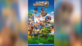 Starting a lot of clash Royale the beginning
