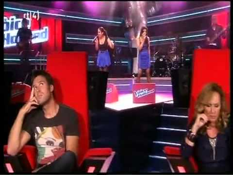 The Voice of Holland Audities - Jennifer & Anupa