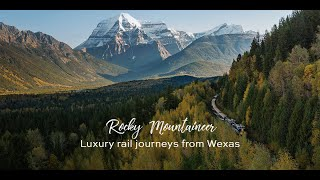 Wexas rail event: Rocky Mountaineer