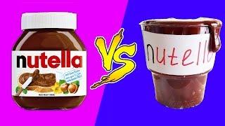 Домашнее против магазинного! Какая Нутелла вкуснее? Готовим бюджетную Нутеллу дома 🐞 Afinka