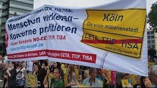 Köln: Stimmen und Impressionen von der Demo gegen CETA und TTIP