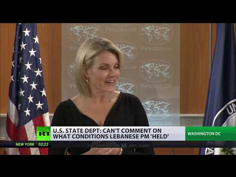 US State Dept spokesperson declines comment on Lebanon PM's status in Saudi Arabia