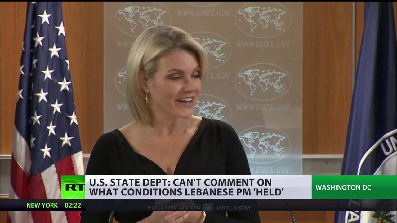 US State Dept spokesperson declines comment on Lebanon PM's status in Saudi Arabia