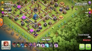 Pushing trophies at th11 using edg|Dominating max th12 bases