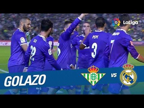 Golazo de Isco (0-4) Real Betis vs Real Madrid