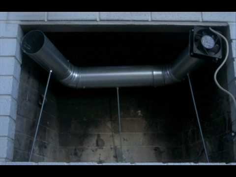 Fireplace Fan PLANS - For sale - YouTube
