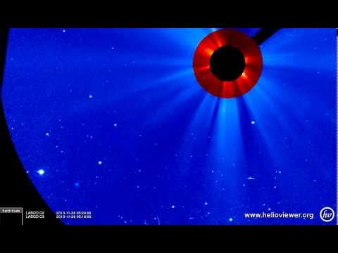 LASCO C2/C3 (2013-11-25 19:30:05 - 2013-11-26 16:30:05 UTC)