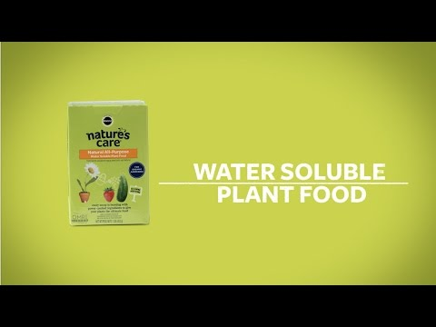 How to Use Nature's Carer® Natural All-Purpose Water Soluble Plant Food for Organic Gardening
