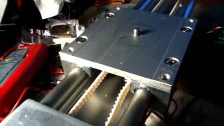 Slider Motor Test - Igus Motorized By Servo City Parts