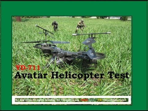 YD 711 Avatar Helicopter Test by NightFlyyer, the Pros and cons.