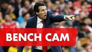 BENCH CAM | Arsenal 3-2 Aston Villa | Premier League