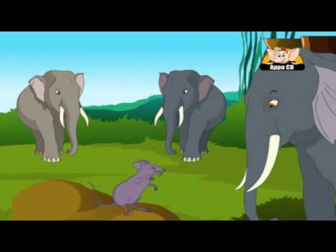 Panchantantra Tales in Kannada - The Mice and the Elephants