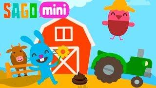 Веселая Ферма  Саго Мини.Животные и Растения Оживают.Геймплей Игры