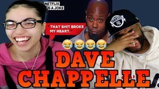 MY DAD REACTS TO Dave Chappelle Finds Out His Son Smokes Weed REACTION   Netflix Is A Joke