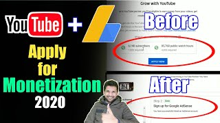 how to apply for monetization on youtube 2020 | youtube monetization kaise kare 2020 | Monetization