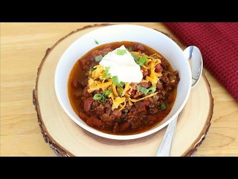 Beef Chili Recipe - How to Make Homemade Chili