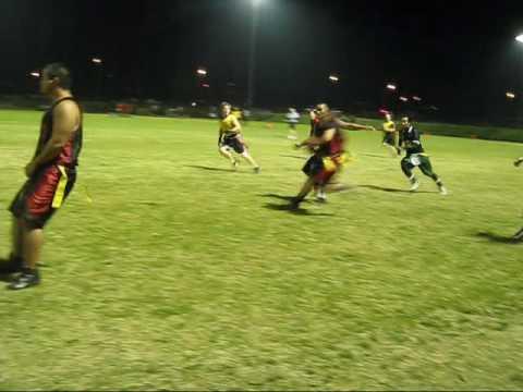 ACL tear flag football