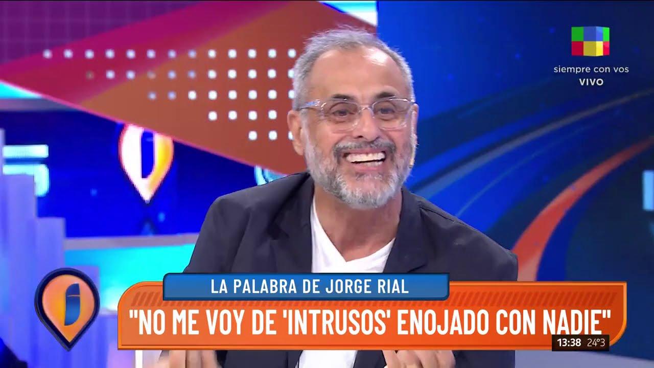 """Jorge Rial: """"Me quedo en América con nuevo proyecto, no en Intrusos"""""""