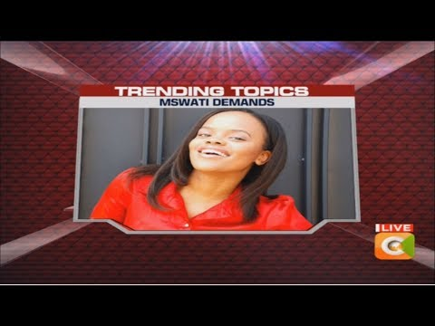 Trending: Swaziland's King Mswati demanding 300 cows for princess #10Over10